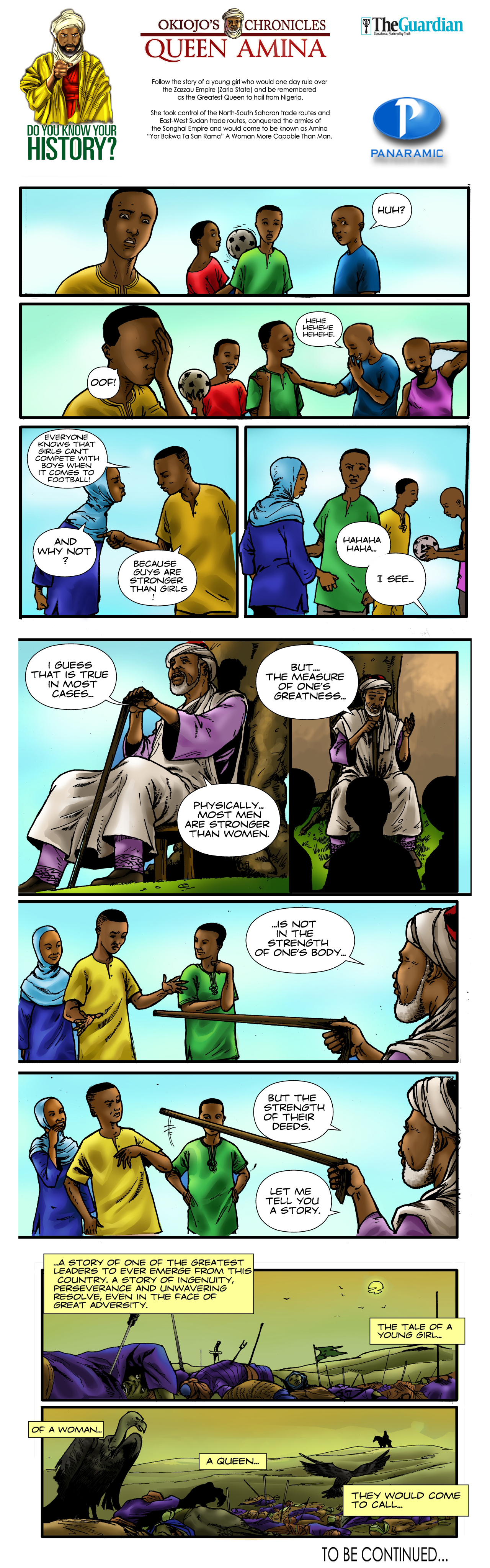 Okiojo's Chronicles - Queen Amina (Part 1) - 2