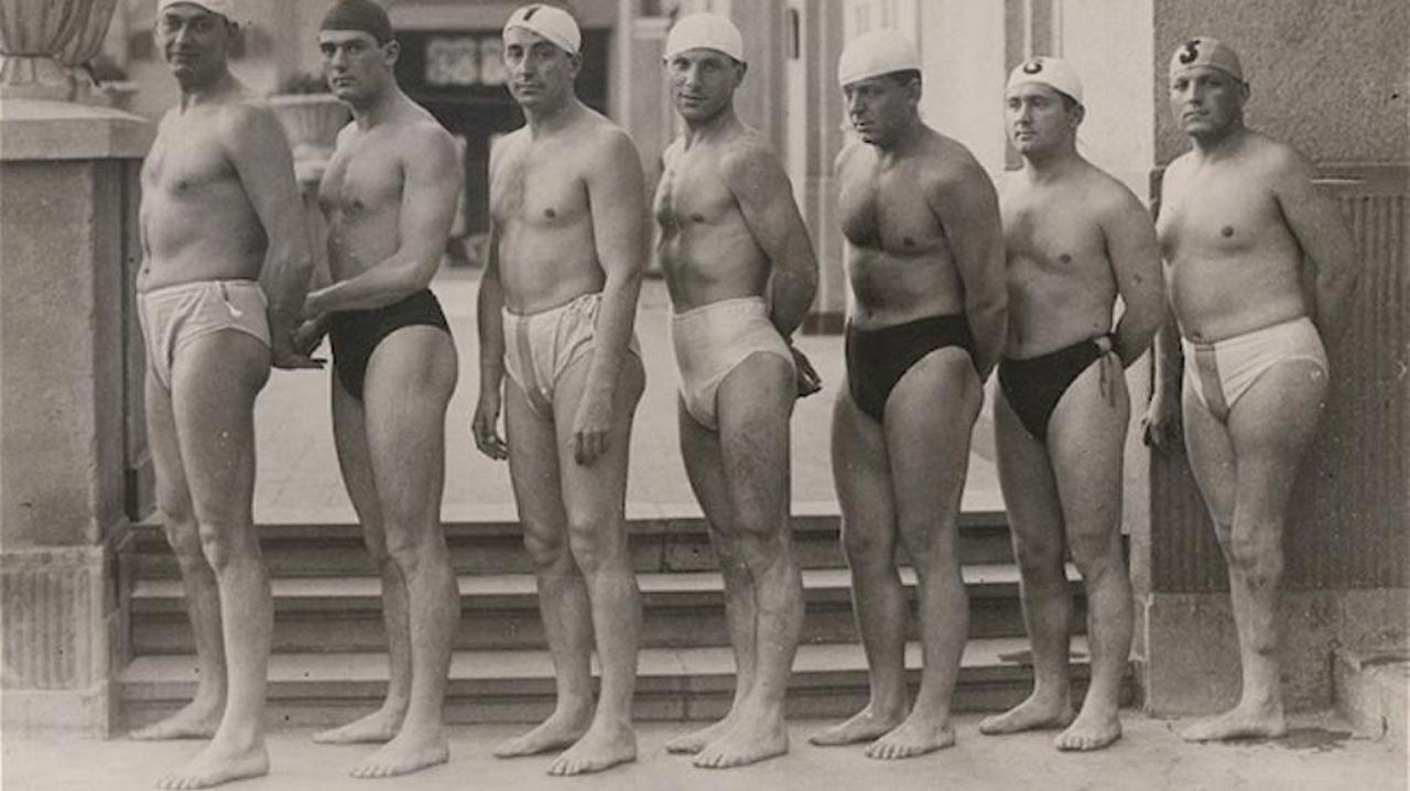 Some of the pioneers of Paralympics' swimming. PHOTOS: SPORTS.VICES.COM.