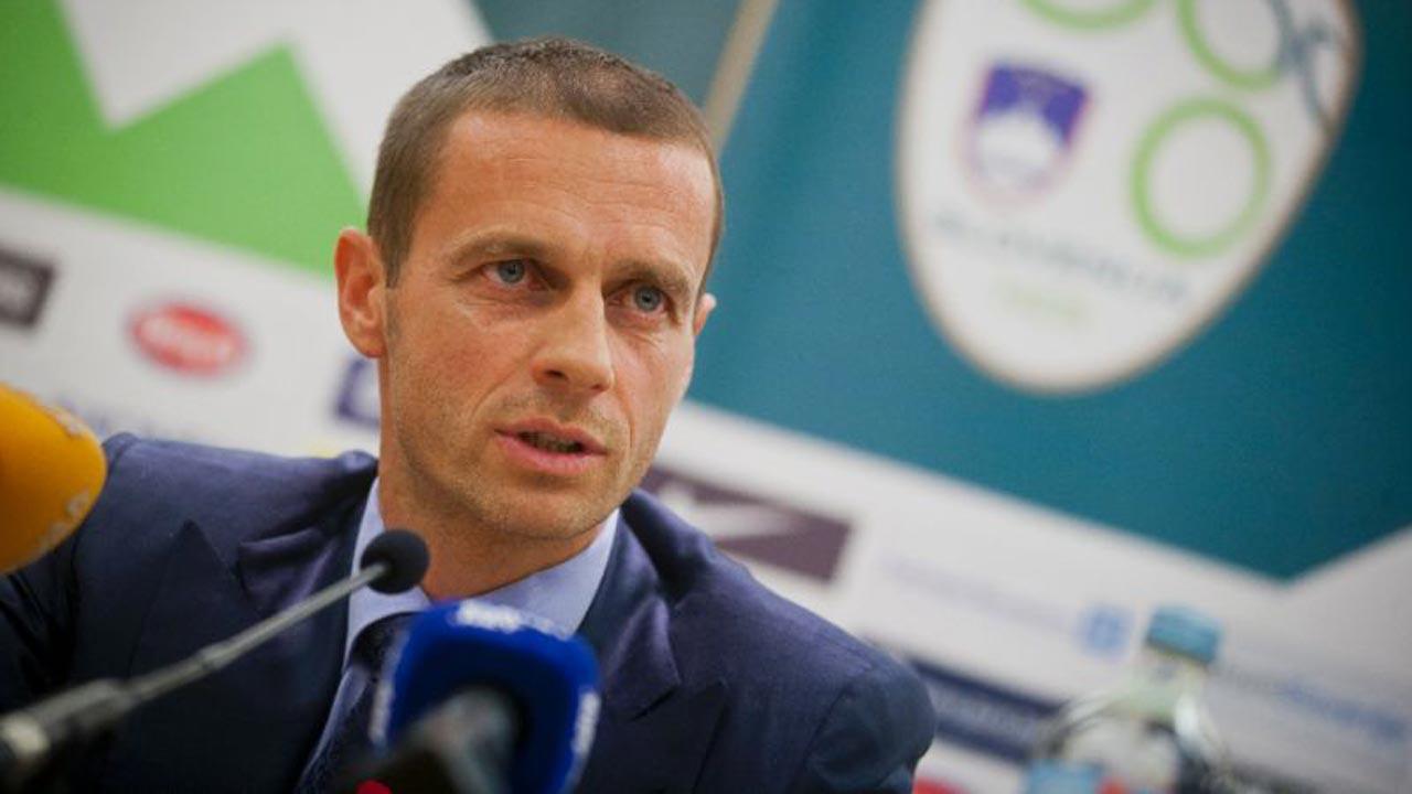 Slovenian Football Association president Aleksander Ceferin, (AFP Photo/Jure Makovec)