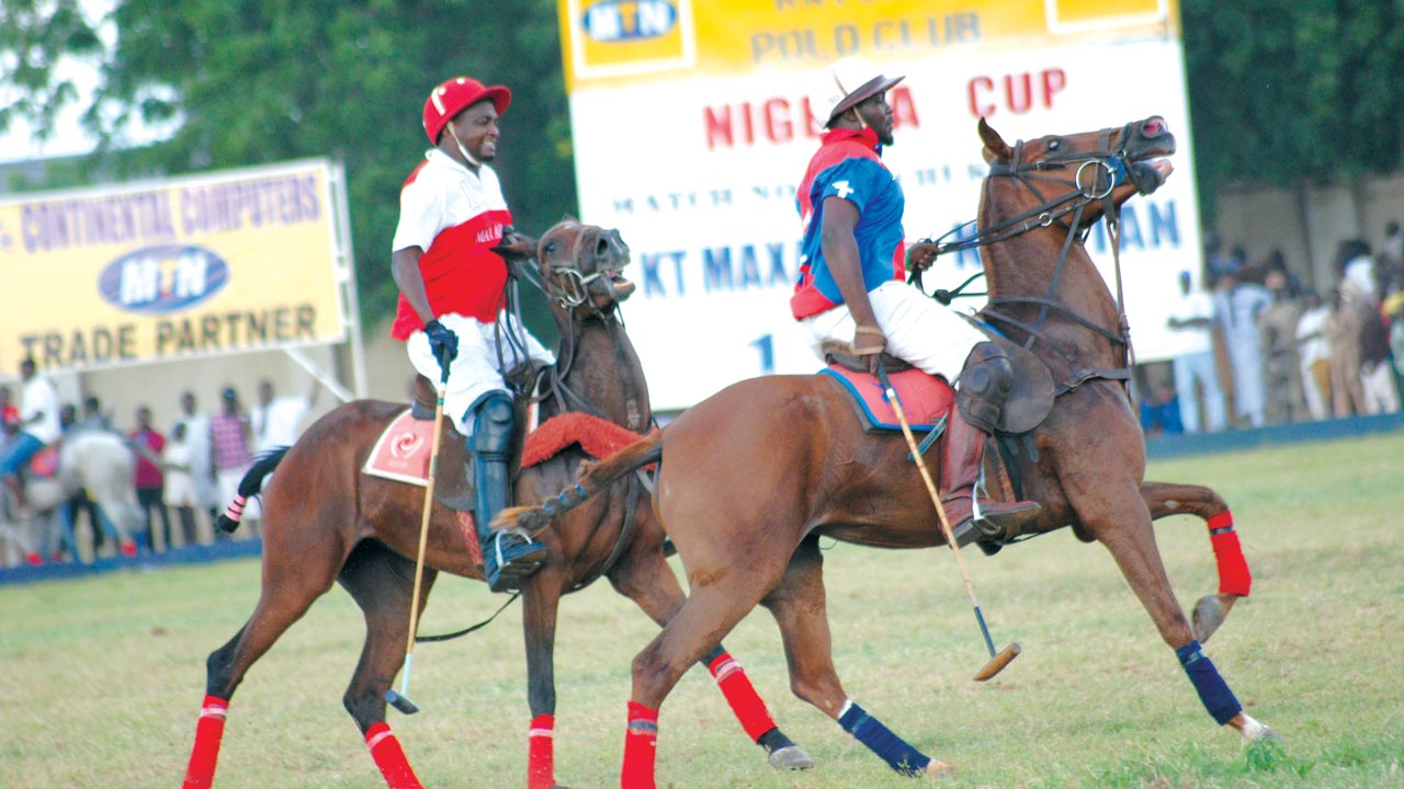 Action from the just ended yearly MTN sponsored Polo tournament in Katsina State, recently.