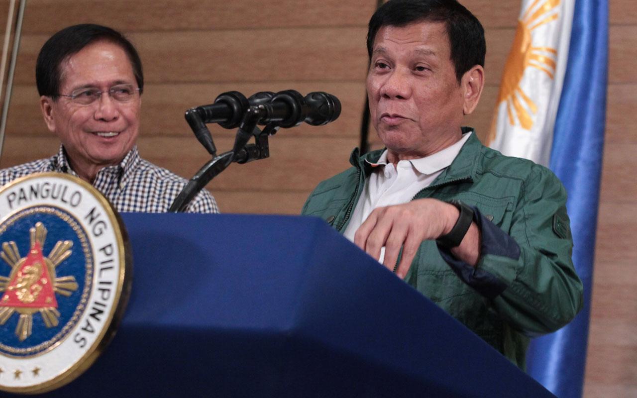 Rodrigo Duterte / AFP PHOTO / PPD / Handout /