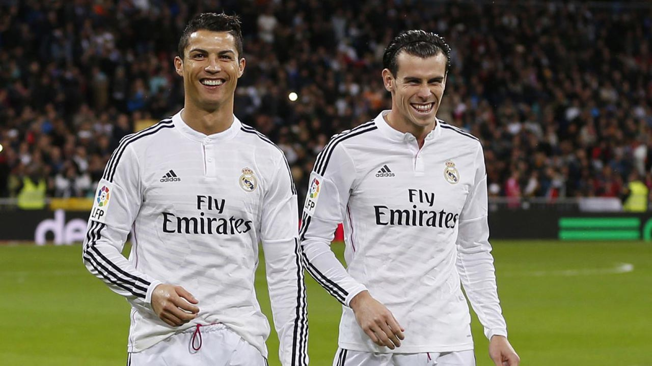 Ronaldo and Bale. PHOTO: foxsports.com