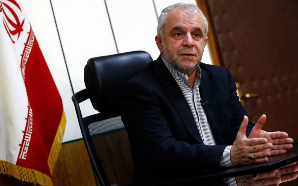 The head of Iran's Hajj Organisation and Pilgrimage Organisation, Said Ohadi, gives an interview to AFP on September 9, 2016 in Tehran. With Iranians barred from the annual hajj pilgrimage, thousands protested in Tehran on Friday and officials criticised Saudi Arabia's refusal to discuss last year's deadly stampede. Around 64,000 Iranians allocated places for the hajj under a quota system will be absent when it starts on Saturday, after talks between the increasingly bitter rivals fell apart earlier this year. / AFP PHOTO / STRINGER