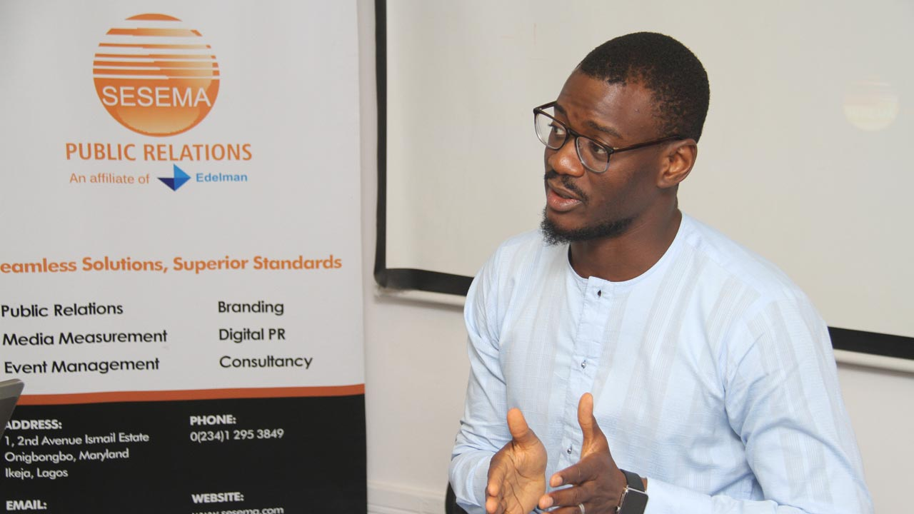 Director, Client Service and Strategy at Ventra Media Group, Tomiwa Aladekomo.