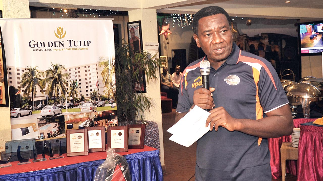 Chairman, UPDC Nigeria Plc, Larry E. Ettah, has promised that the UPDC Hotels/Golden Tulip Squash will go international… next year.