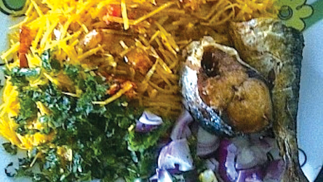 A typical abacha delicacy