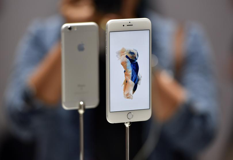 Apple. Photo: Josh Edelson/AFP/Getty Images