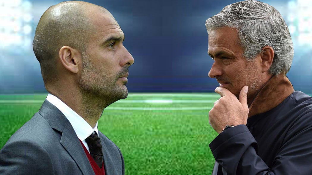 Man Utd vs Man City: Mourinho, Guardiola's rivalry lights