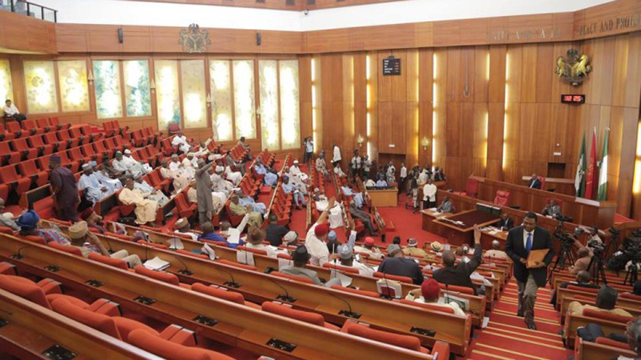 Nigerian Senate. PHOTO:nta.ng