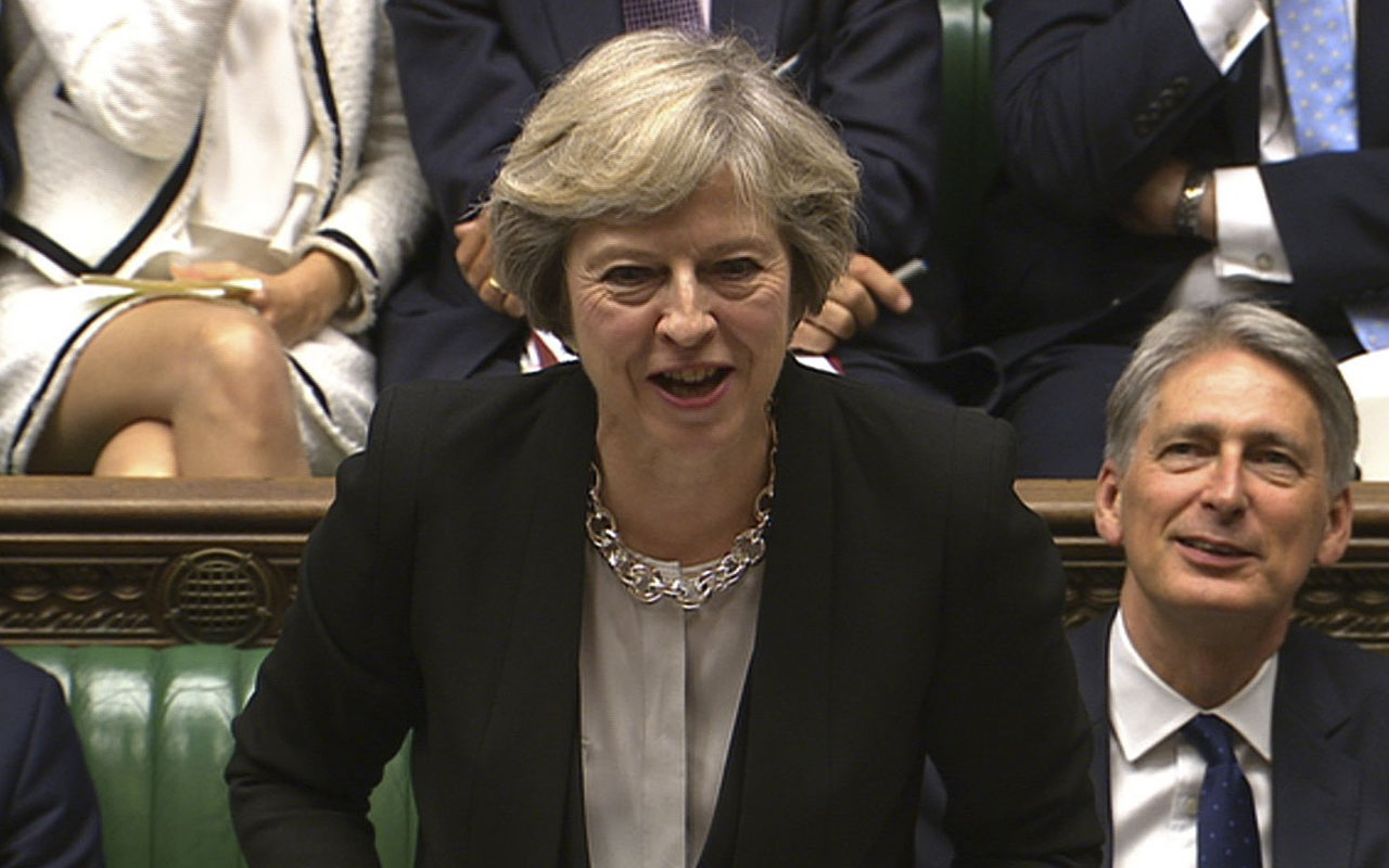 British Prime Minister Theresa May / AFP PHOTO / PRU / PRU /