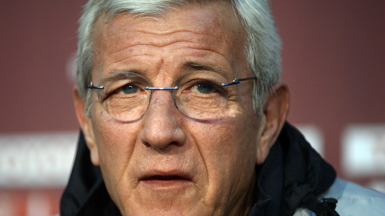 Marcello Lippi. PHOTO: ERIC FEFERBERG / AFP