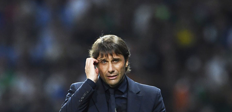 Italy's coach Antonio Conte / AFP PHOTO / MIGUEL MEDINA