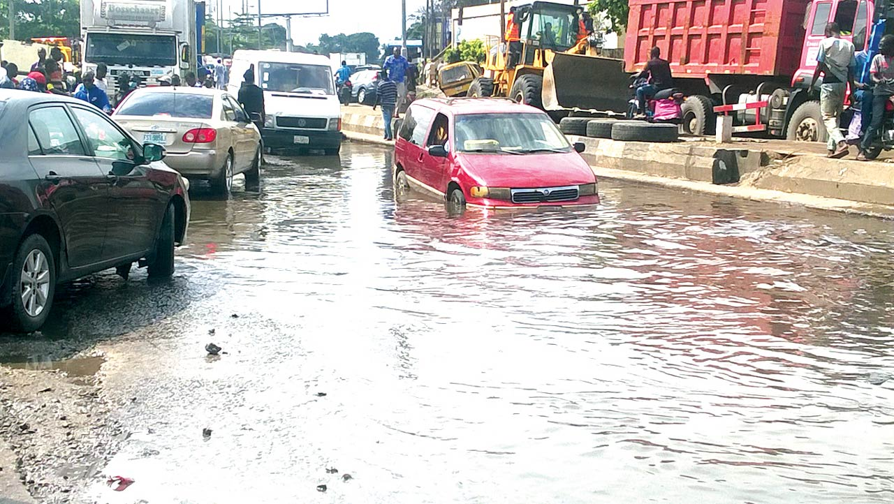 Wharf Road, Apapa, PHOTO: ANOTE AJELUOROU