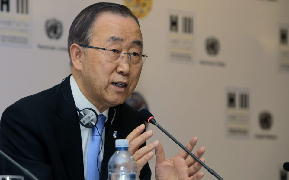 UN Secretary-General Ban Ki-moon / AFP PHOTO / JUAN CEVALLOS