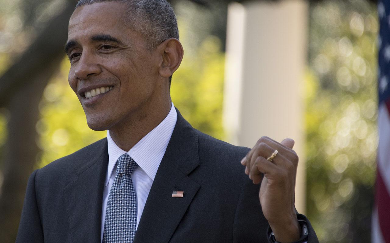 US President Barack Obama / AFP PHOTO / JIM WATSON