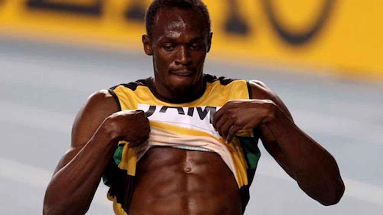 IAAF President, Sebastian Coe, wants Usain Bolt to join him in cleansing the athletics body's image. PHOTO: AFP.