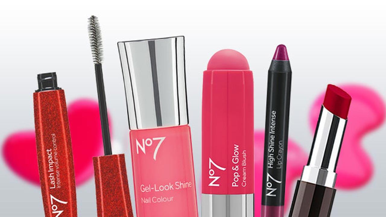 Boots No7 cosmetics