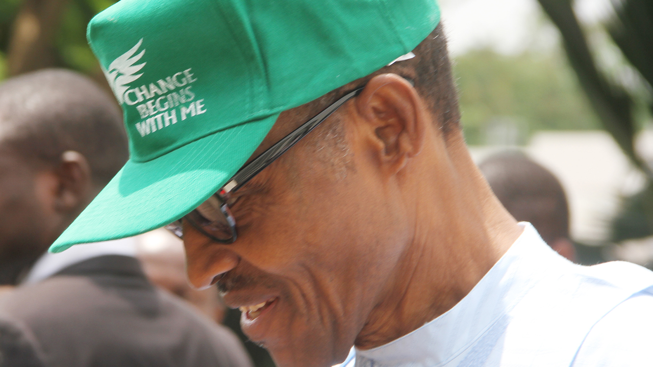 Buhari Change begins with me