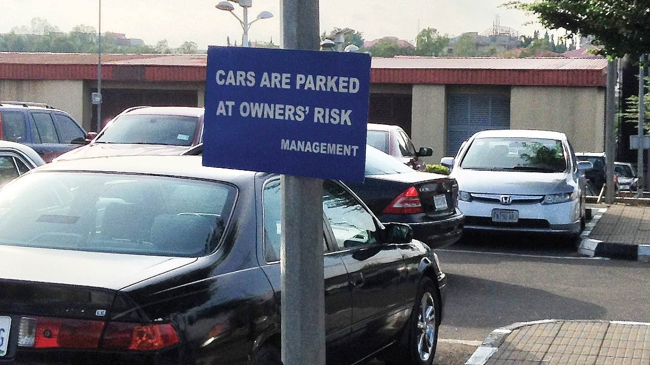 A car park in Abuja