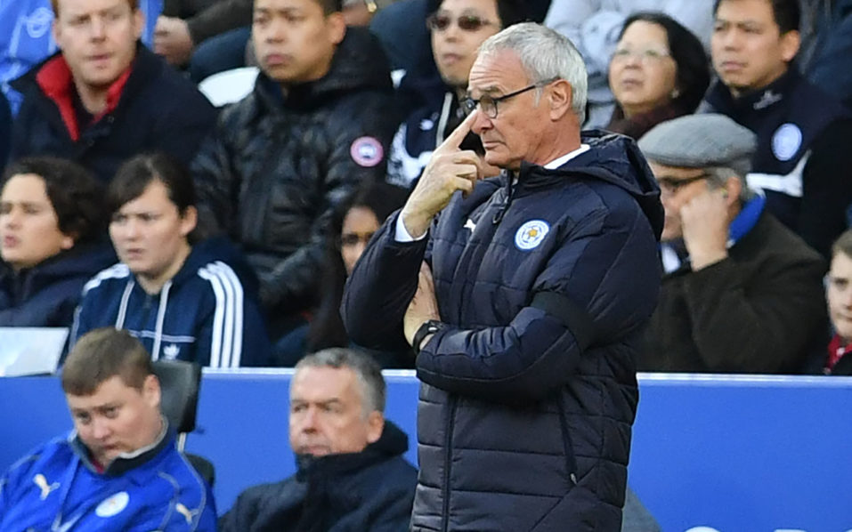 Leicester City's Italian manager Claudio Ranieri  / AFP PHOTO / Ben STANSALL /