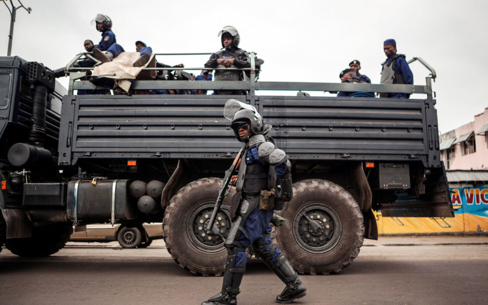 DR Congo force / AFP PHOTO / Eduardo Soteras