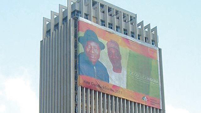 Independence House/ former Defense headquarters in Lagos