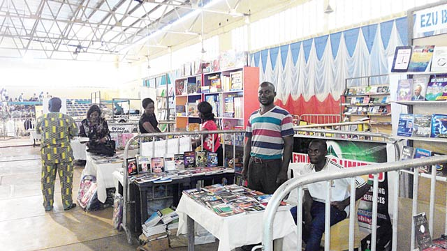 A scene from Enugu book fair