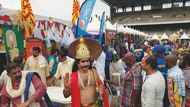 The carnival procession