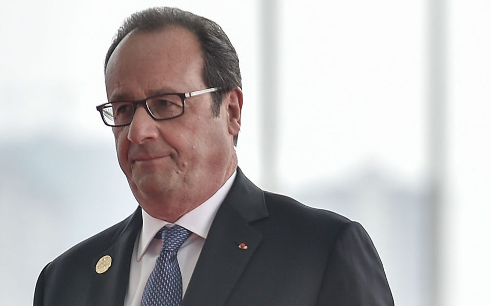 French President Francois Hollande/ AFP PHOTO / POOL / Etienne Oliveau /