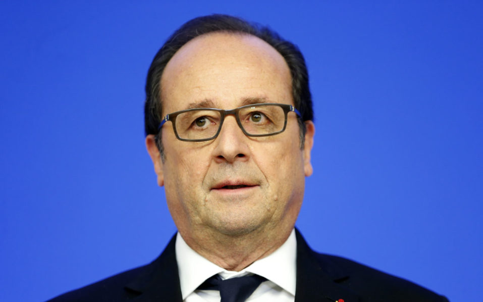 French President Francois Hollande / AFP PHOTO / POOL / CHARLES PLATIAU