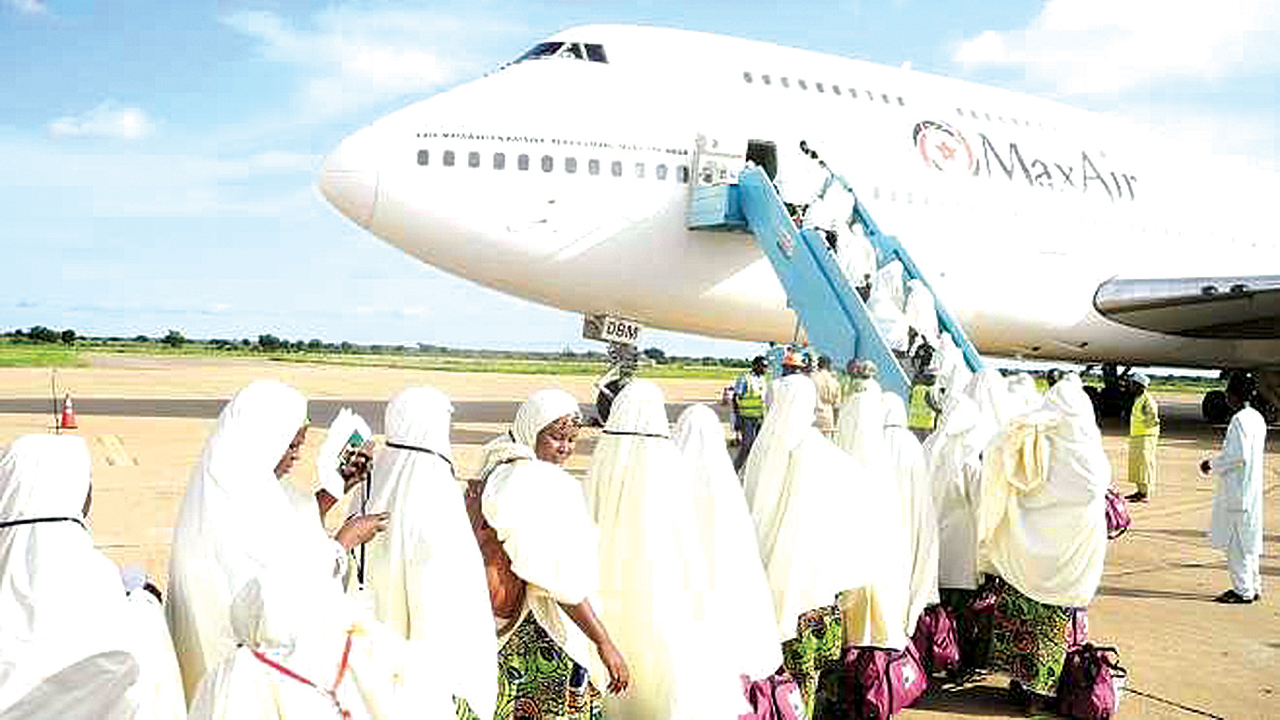 Muslim pilgrims on their way to Mecca PHOTO: NIGERIANEYE