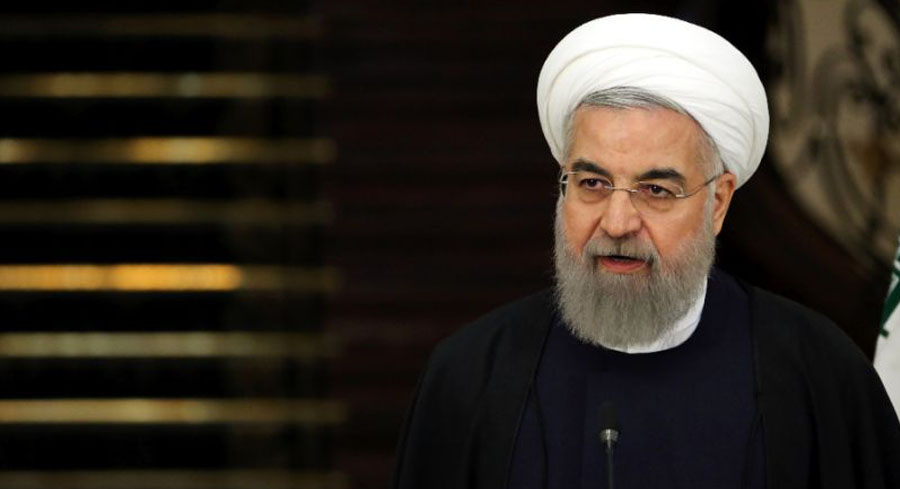 Iranian President Hassan Rouhani  /AFP Photo/Atta Kenare