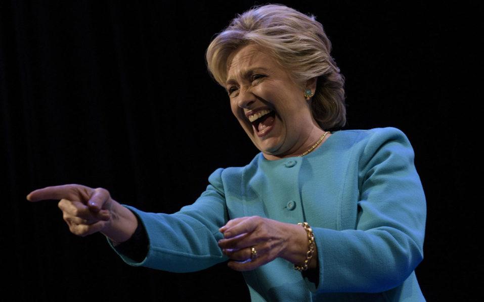 Democratic presidential nominee Hillary Clinton . / AFP PHOTO / Brendan Smialowski