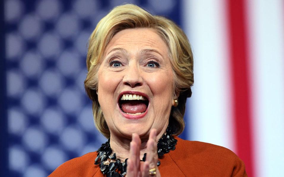 US Democratic presidential nominee Hillary Clinton / AFP PHOTO / Jewel SAMAD