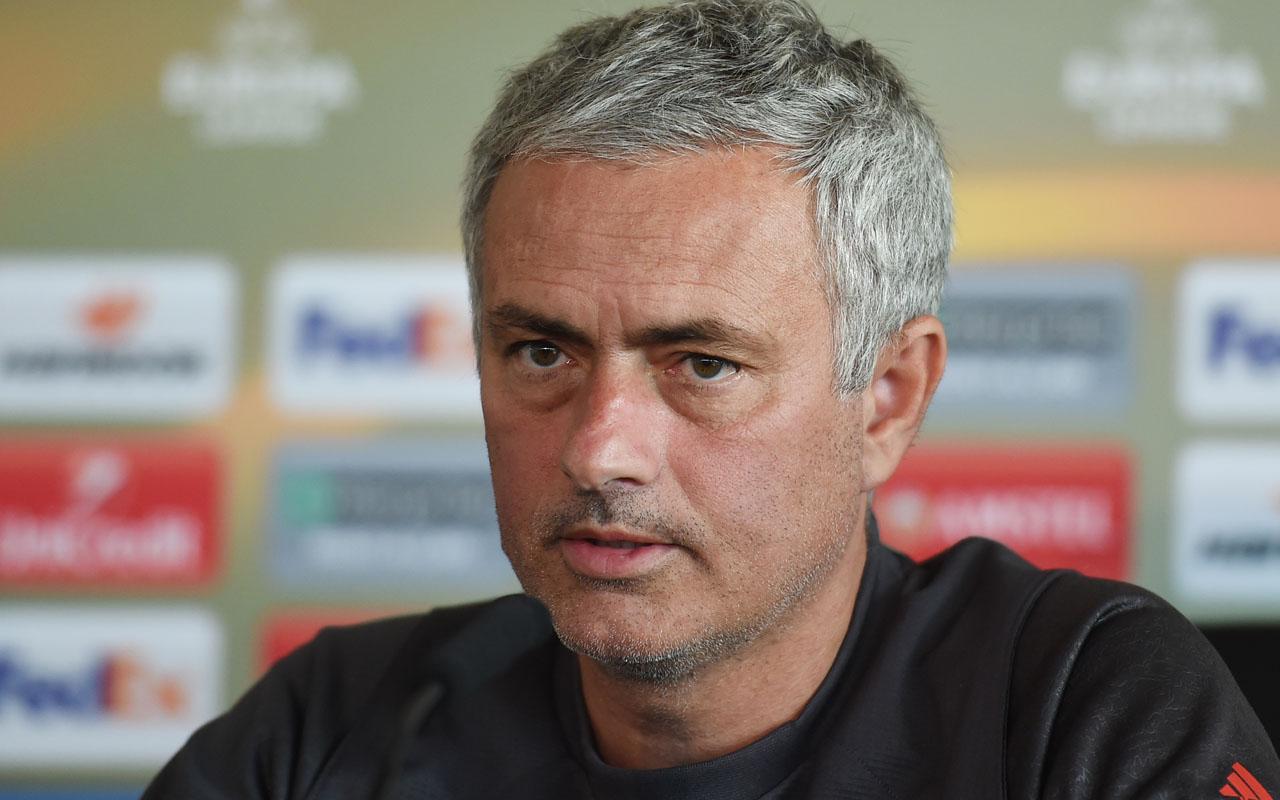 Manchester United manager Jose Mourinho. AFP PHOTO / PAUL ELLIS