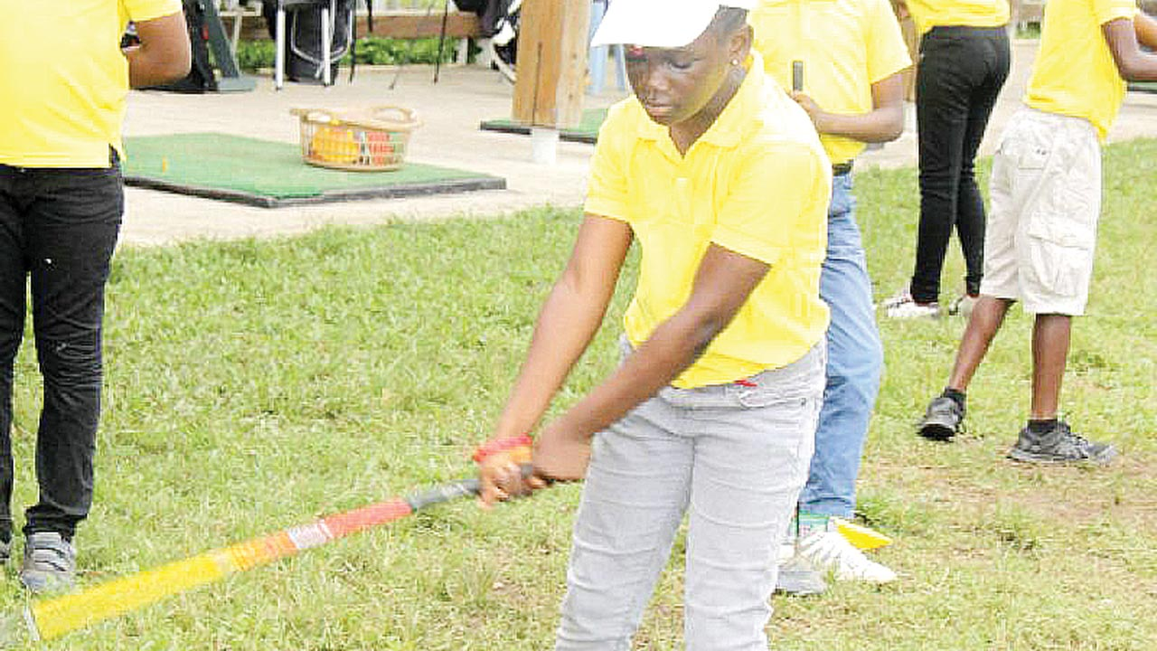 The best junior players from across the country have gathered at the Ikeja Golf Club to vie for honours in the Third Awa Ibraheem Golf Open Championship, which teed off yesterday.