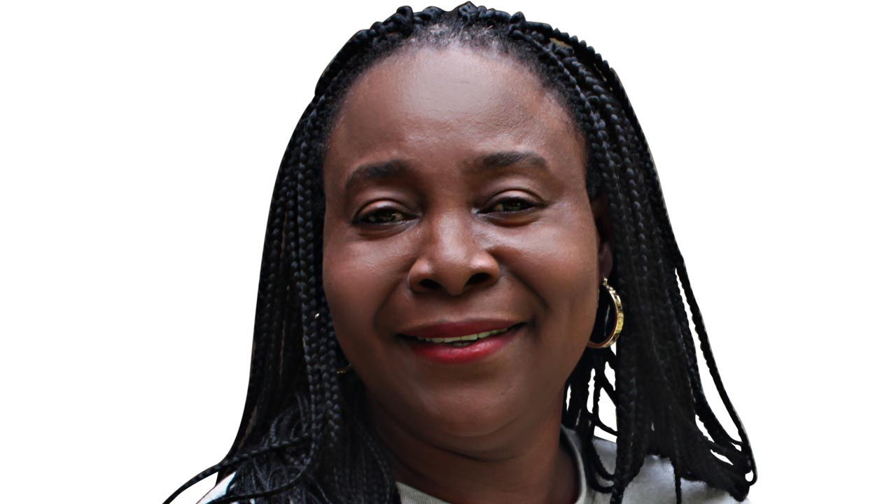 Associate Professor of art history, University of Lagos, Dr. Peju Layiwola