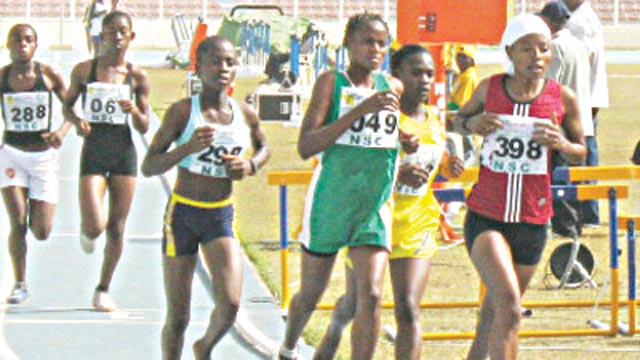 Participants going for honours at a recent marathon. Organisers of the Oba Shotubi Independence Day Mini-Marathon say the event is aimed at discovering future champions from the grassroots.