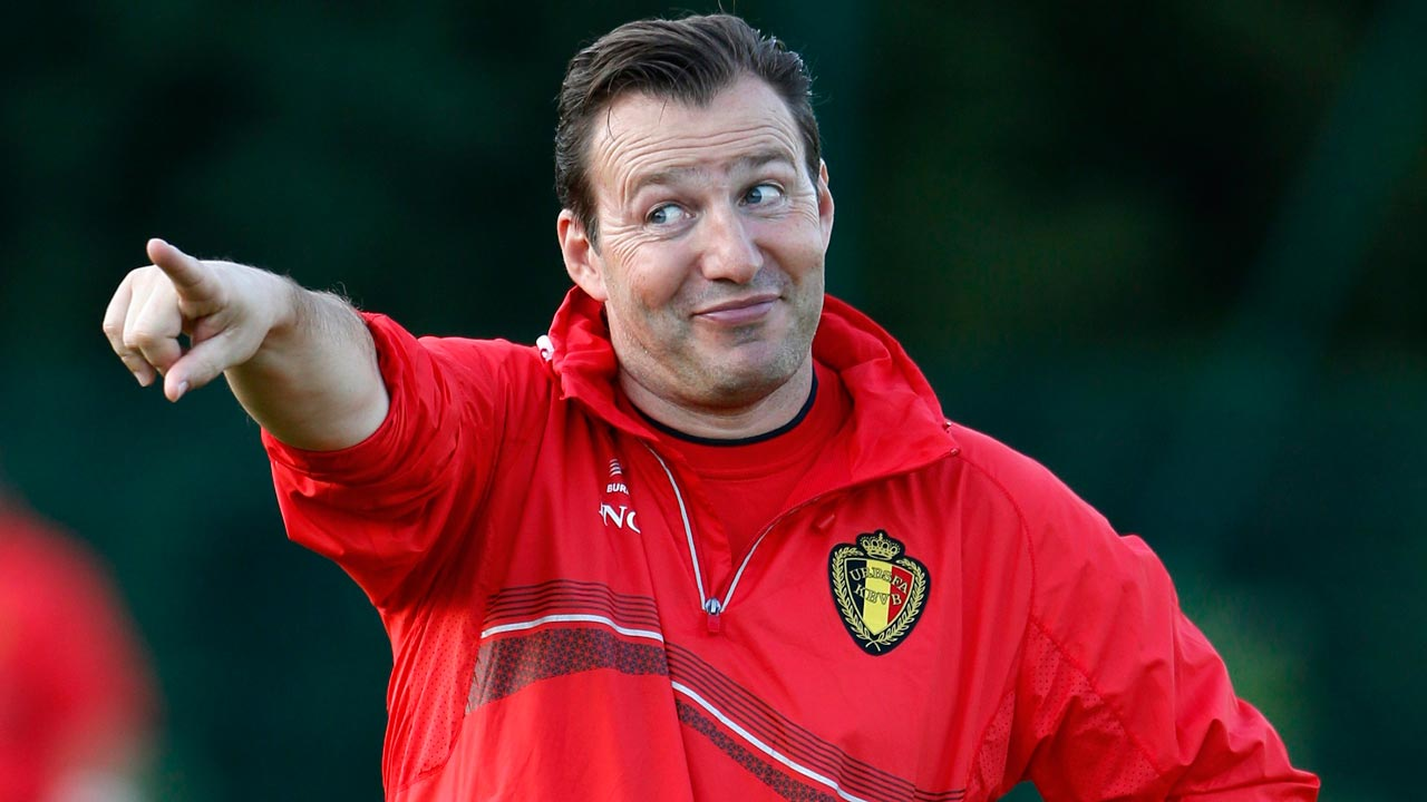 Former Belgium Coach, Marc Wilmots