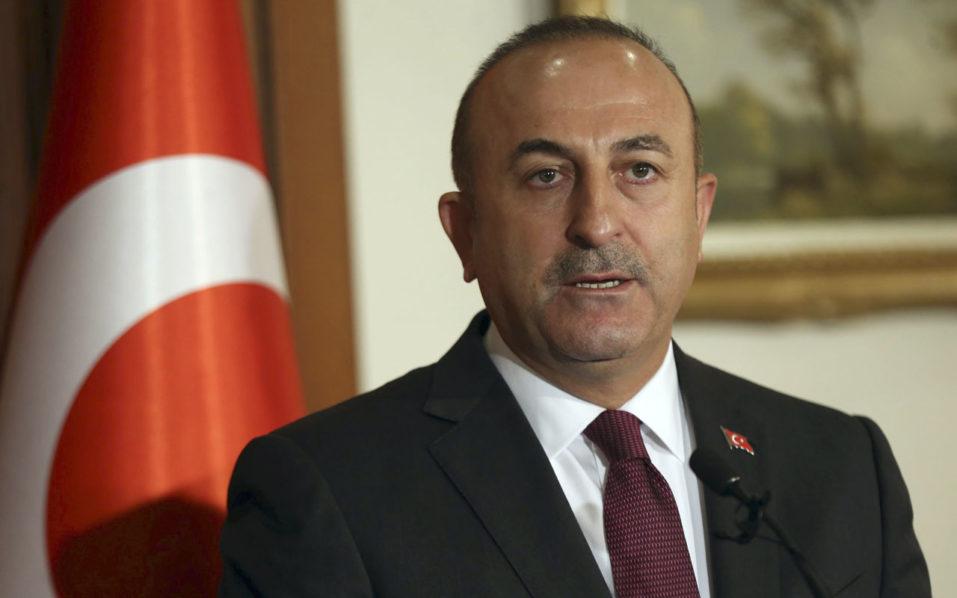 Turkish Foreign Minister Mevlut Cavusoglu / AFP PHOTO / ADEM ALTAN
