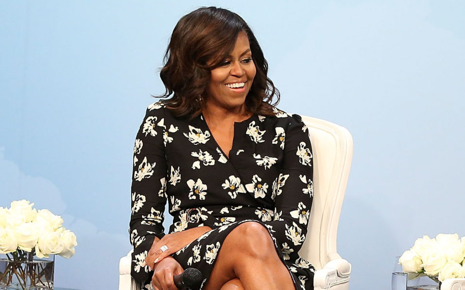 Michelle Obama/   Paul Morigi/Getty Images for Glamour/AFP