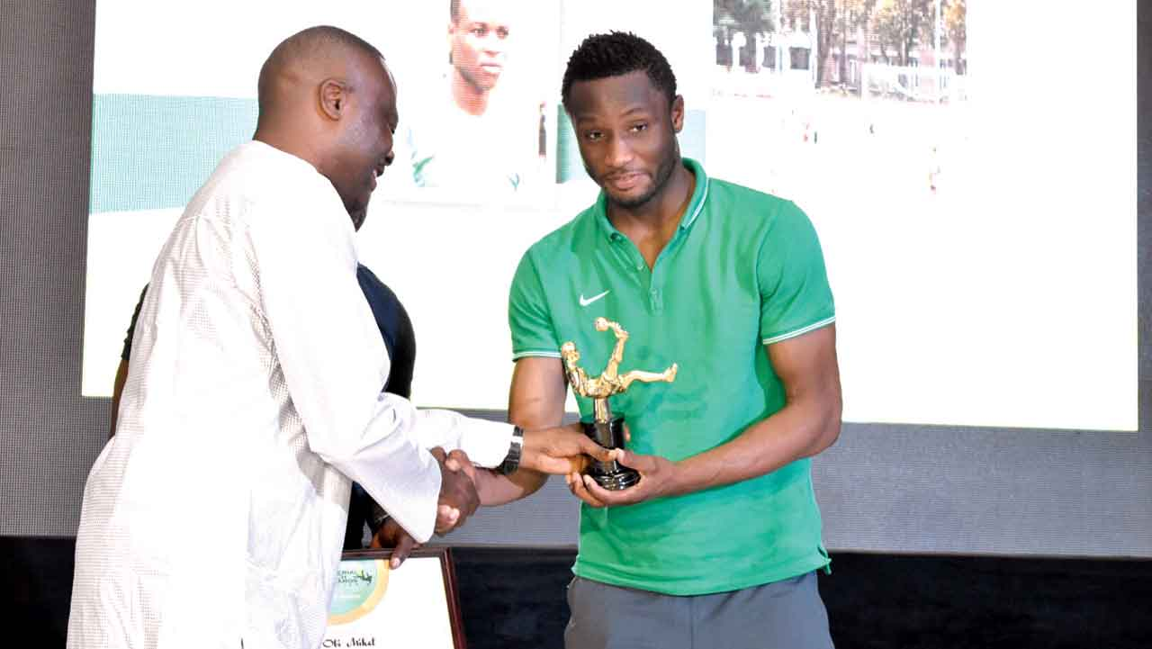 John Obi Mikel is a past recipient of the Nigeria Pitch Awards.