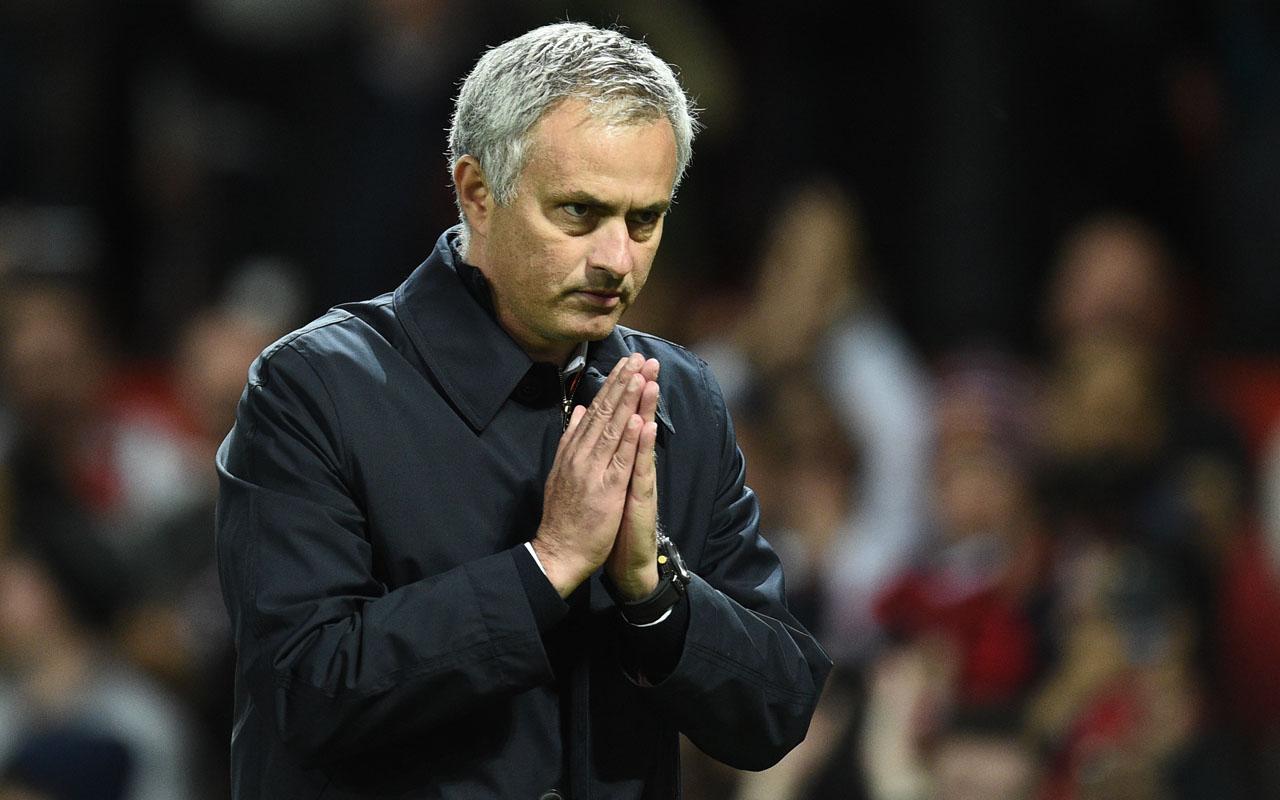 Manchester United's Portuguese manager Jose Mourinho. AFP PHOTO / Oli SCARFF /