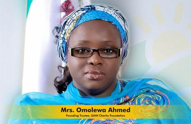 Mrs. Omolewa Ahmed