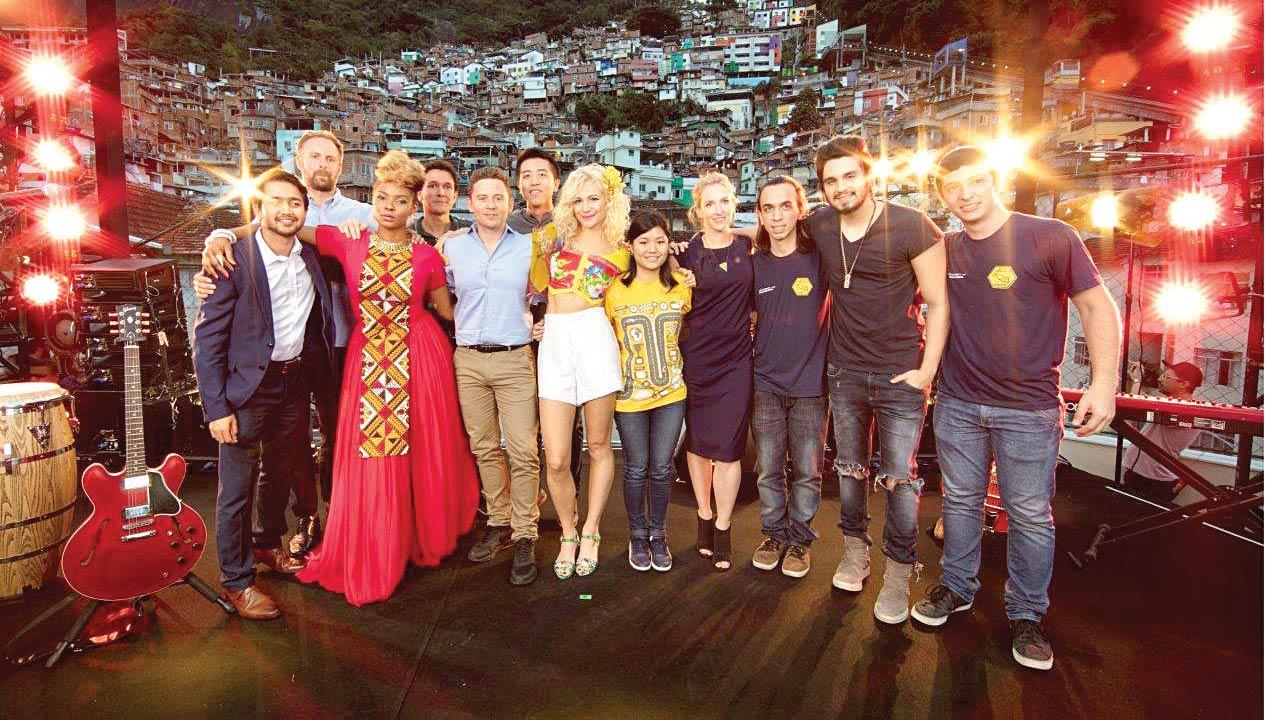Music stars and entrepreneurs in santa Marta