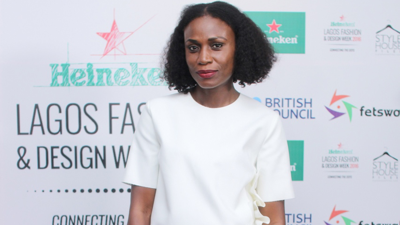 Omoyemi Akerele, founder, Style House Files and Heineken Lagos Fashion and Design Week