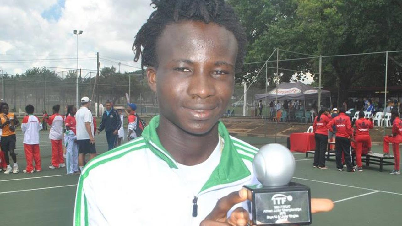Micheal Osewa won the 17th NNPC/Chevron Junior Masters Tennis Championship… at the weekend.