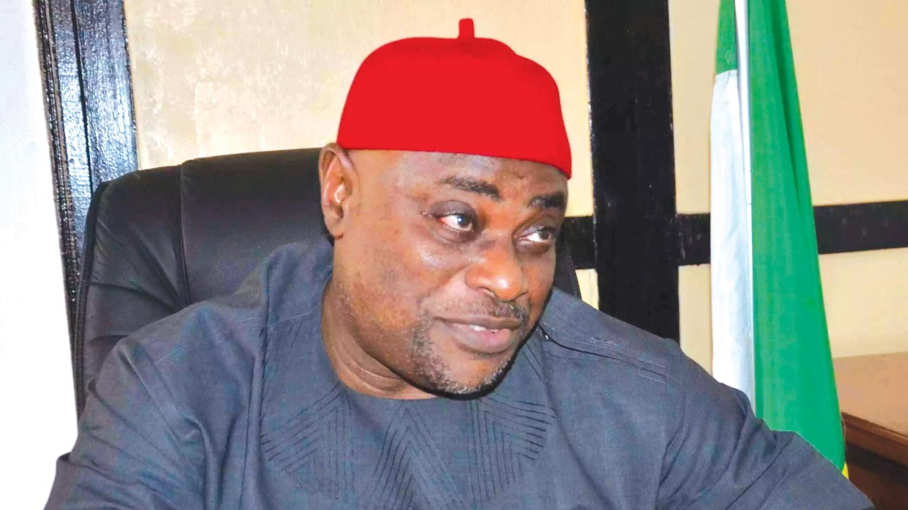 National Chairman of the All Progressives Grand Alliance (APGA), Chief Victor Oye