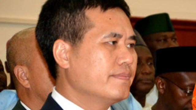 Chinese Ambassador to Nigeria, Mr. Zhou Pingjian