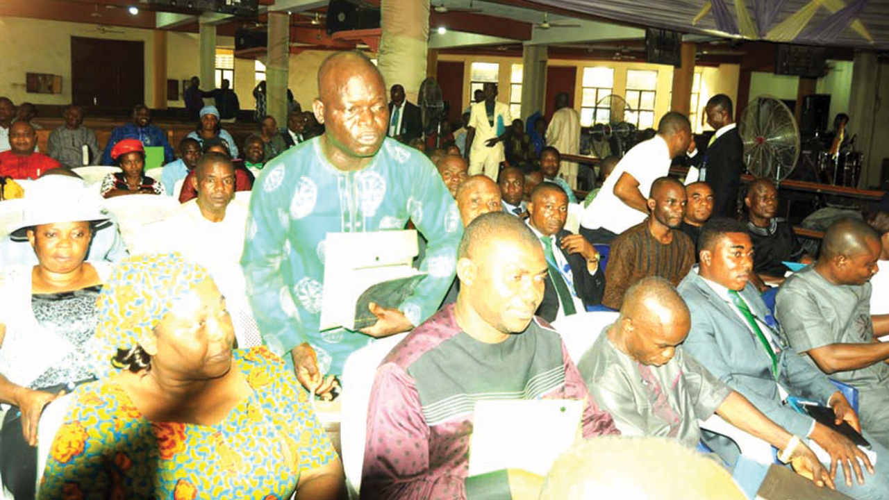 Participants at the Back-To-Bible Conference